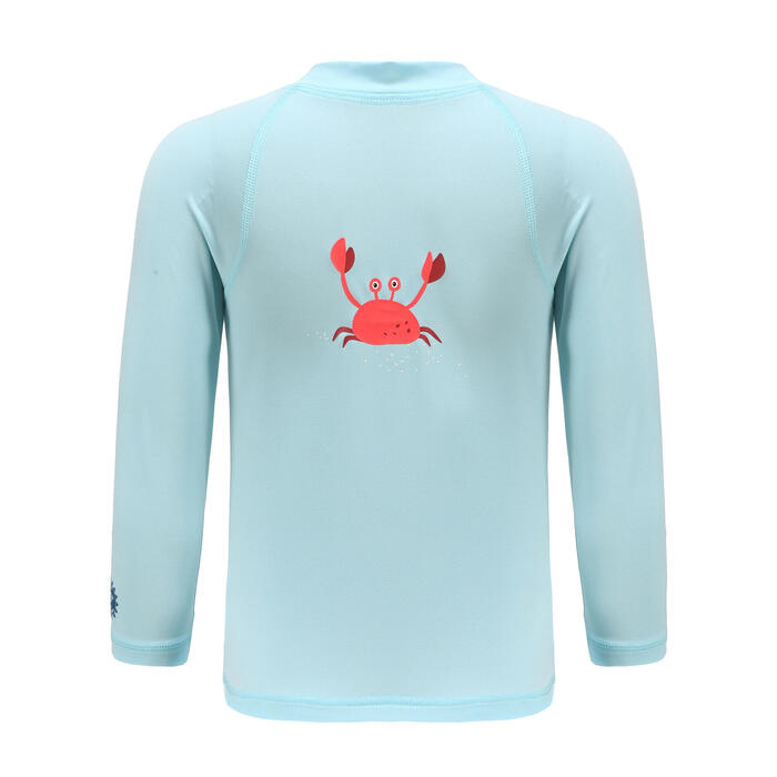 Baby Long Sleeve UV-protection T-shirt - Pink