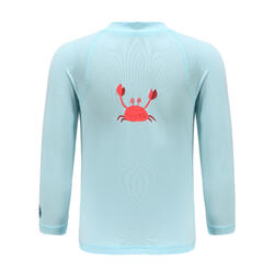 Baby long-sleeve UV-protection T-Shirt - Blue