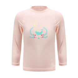 Baby long-sleeve UV-protection T-Shirt - Pink