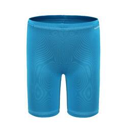 嬰幼兒款抗紫外線游泳短褲 - 藍色