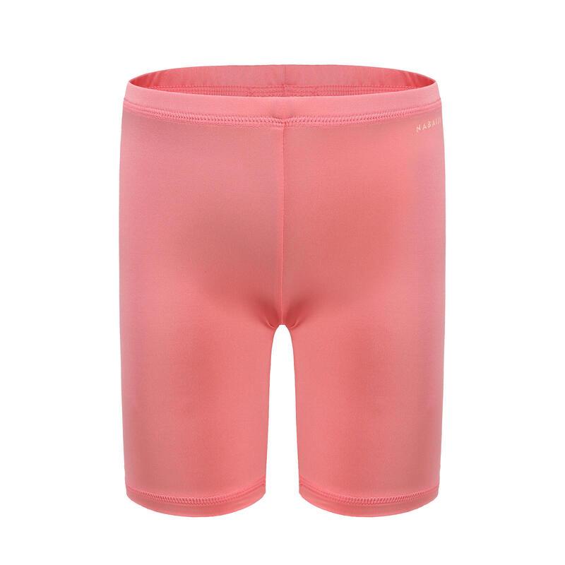 嬰兒款/兒童款抗紫外線游泳短褲 - 粉紅色