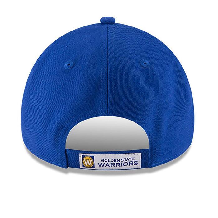 Casquette de basketball pour adulte des Golden State Warriors bleue.