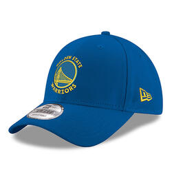 Casquette de basketball pour adulte des Golden State Warriors bleue.