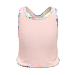 女孩款坦基尼泳裝上半身Leony Fruts - 粉紅色