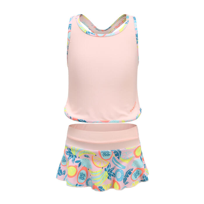 Girl's Tankini Swimsuit Bottoms Leony Fruts - Pink