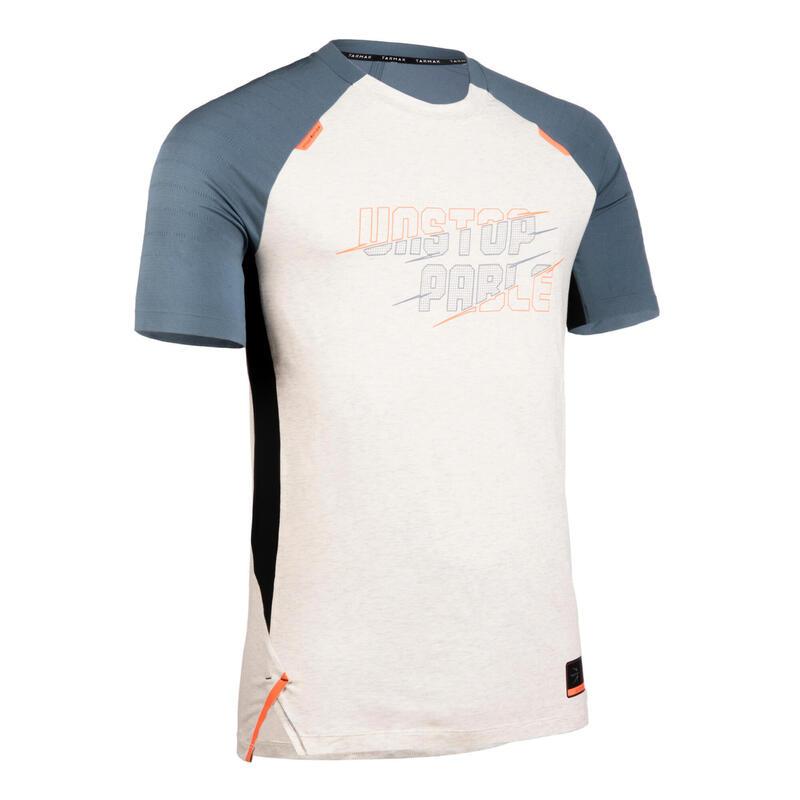 Men's Basketball T-Shirt / Jersey TS900 - Beige/Grey
