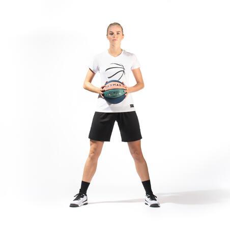 Women's Intermediate Basketball T-Shirt / Jersey TS500 - Dark Grey