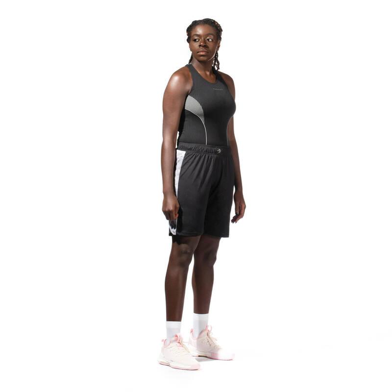 BASKETBAL ŽENY Týmové sporty - SPODNÍ TÍLKO ČERNÉ TARMAK - Basketbal
