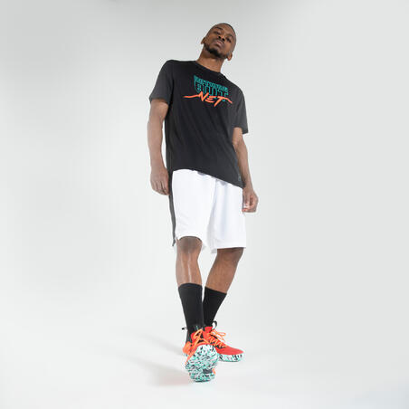 Jersey / Kaus Basket Pria TS500 Fast - Hitam Nothing But Net