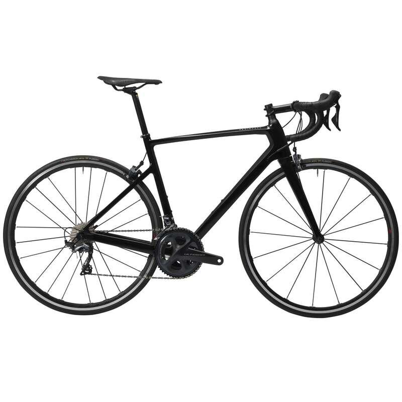 FÉRFI ORSZÁGÚTI KERÉKPÁROK Kerékpározás - Országúti kerékpár EDR 920 CF VAN RYSEL - Kerékpár