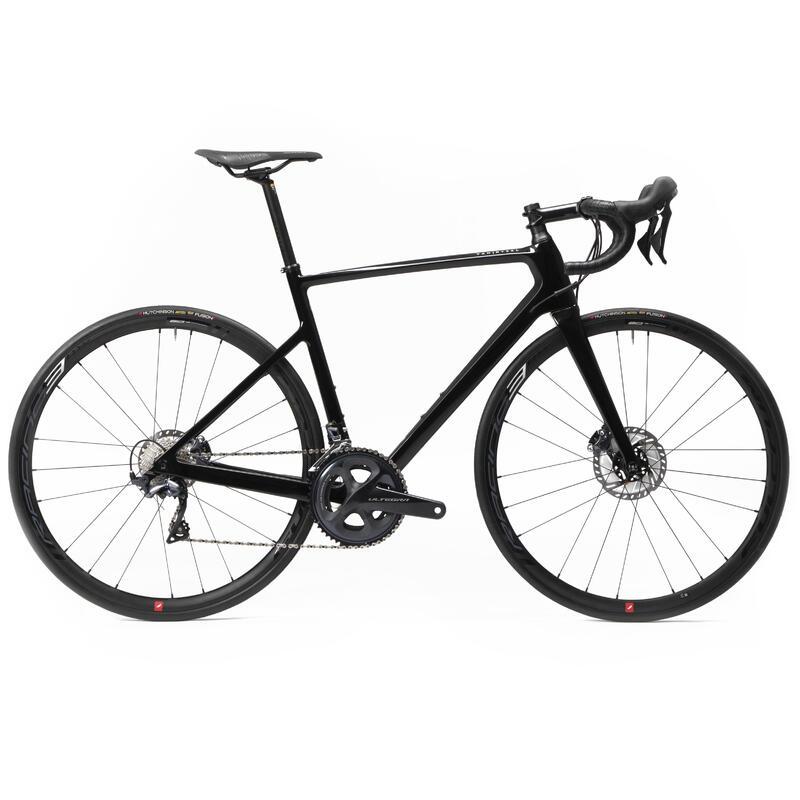 Bici da corsa VAN RYSEL EDR CF ULTEGRA nera