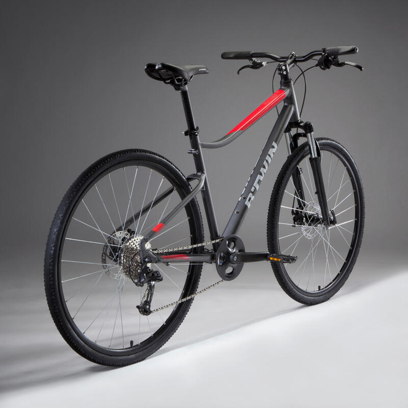 Hybrid Bike Riverside 500 - Grey