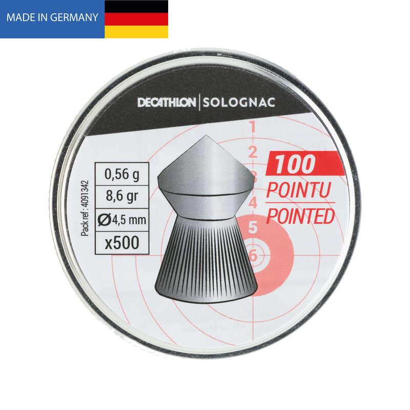 Zielscheibe/Schrot Luft Jagd und Sportschiessen - KUGEL SPITZ 4,5MM × 500  SOLOGNAC - Jagd und Sportschiessen
