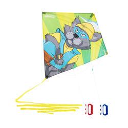 Lenkdrachen 2-in-1 lenkbar und statisch Izypilot 140 Katze