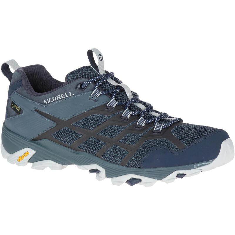 Chaussures imperméables de randonnée montagne - Merrell Moab FST Man - Homme