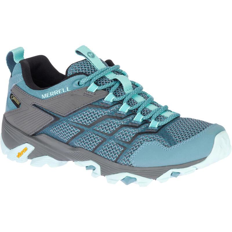 Women's Waterproof Mountain Walking Shoes - Merrell Moab FST Woman