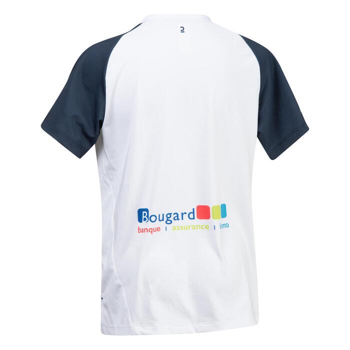 Camisola de Hóquei em Campo Média Intensidade Menina FH500 La Louvière Branco