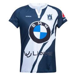 Hockeyshirt voor dames FH500 La Louvière blauw