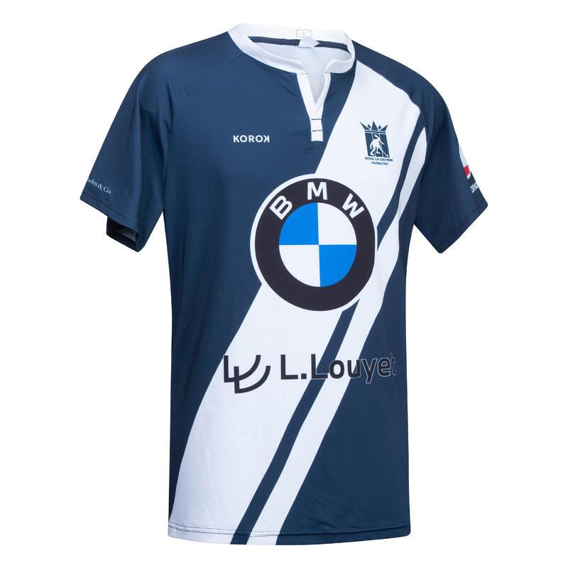 Camiseta de hockey sobre hierba hombre FH500 La Louvière azul