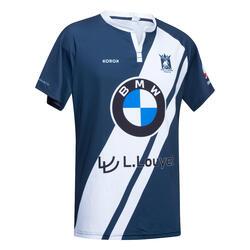 Hockeyshirt voor heren FH500 La Louvière blauw