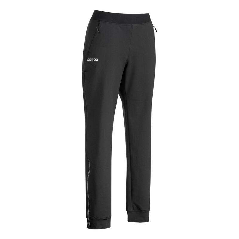 Pantalon de training de hockey sur gazon femme FH900 noir