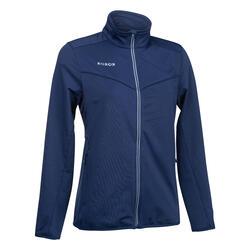 Trainingsvest voor hockey dames FH900 marineblauw