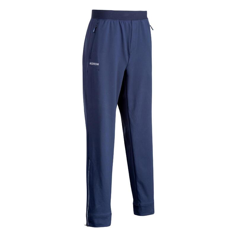 Pantalon de training de hockey sur gazon homme FH900 bleu marine