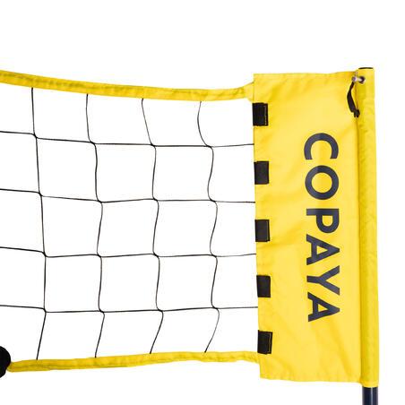 BV500 adjustable beach volleyball set