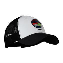 成人款沙灘排球帽BVC500-白色