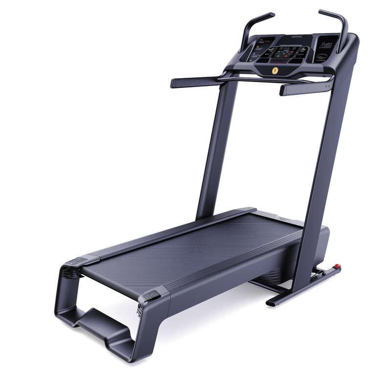 FITNESZ FUTÓ- ÉS GYALOGLÓPAD Fitnesz - Futópad Incline Run DOMYOS - Kardió gépek és eszközök