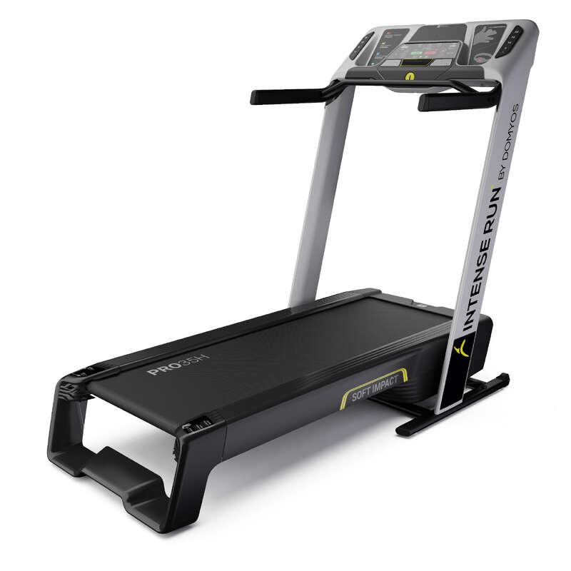 BANDĂ DE ALERGARE SAU DE MERS FITNESS CARDIO Fitness Cardio, Bodybuilding, Crosstraining, Pilates - Bandă de Alergat Intense Run DOMYOS - Aparate fitness cardio