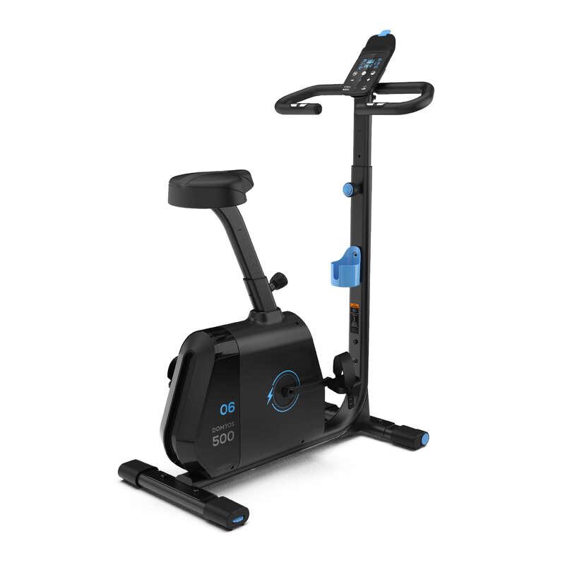 SOBNI BICIKL ZA KARDIOFITNES Fitness - Sobni bicikl EB 500 DOMYOS - Sprave za vježbanje