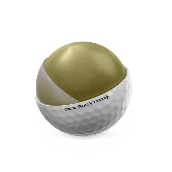 Golfbälle Pro V1 12 Stück weiss