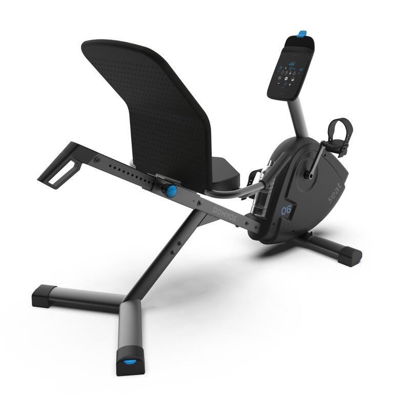 จักรยานออกกำลังกายกึ่งเอนปั่นแบบเชื่อมต่อรุ่น EB Seat
