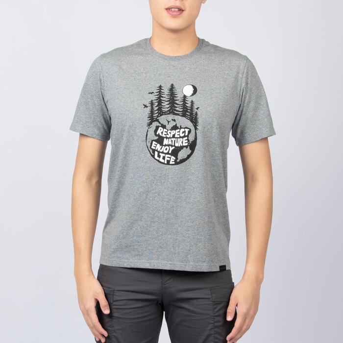 M T-Shirt NH500 AB CN Grey