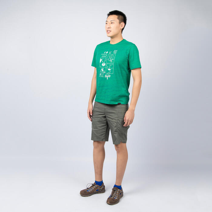 M T-Shirt NH500 CN Green