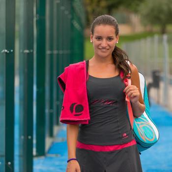 Handdoek racketsporten Artengo roze