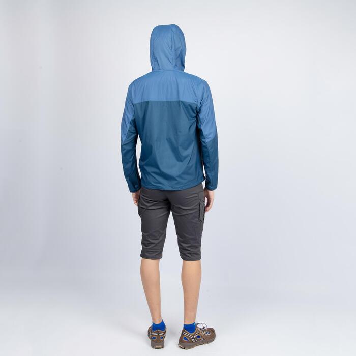 男款外套HELIUM 500 - 石板藍