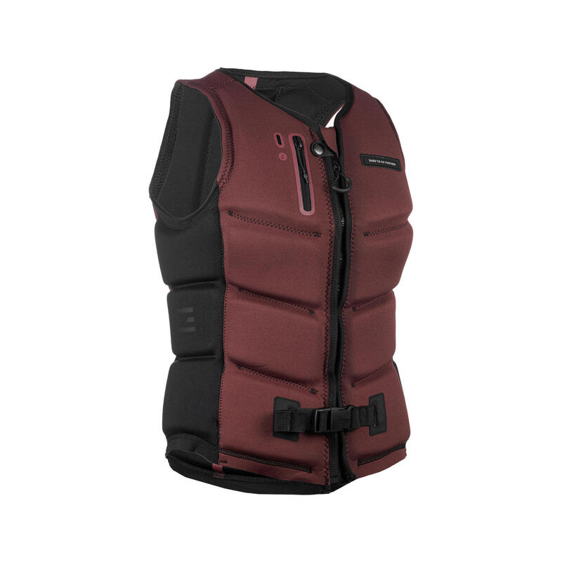 IMPACT VEST WAKEBOARD 500 DONNA 50N ROSSO