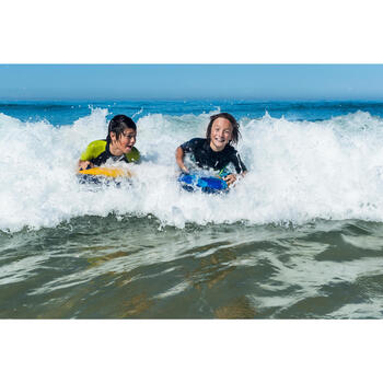 Kid's inflatable DISCOVERY bodyboard - Yellow 4-8 years (15-25 kg)