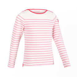 Girl's Sailing Long sleeve T-shirt 100 - Fuchsia