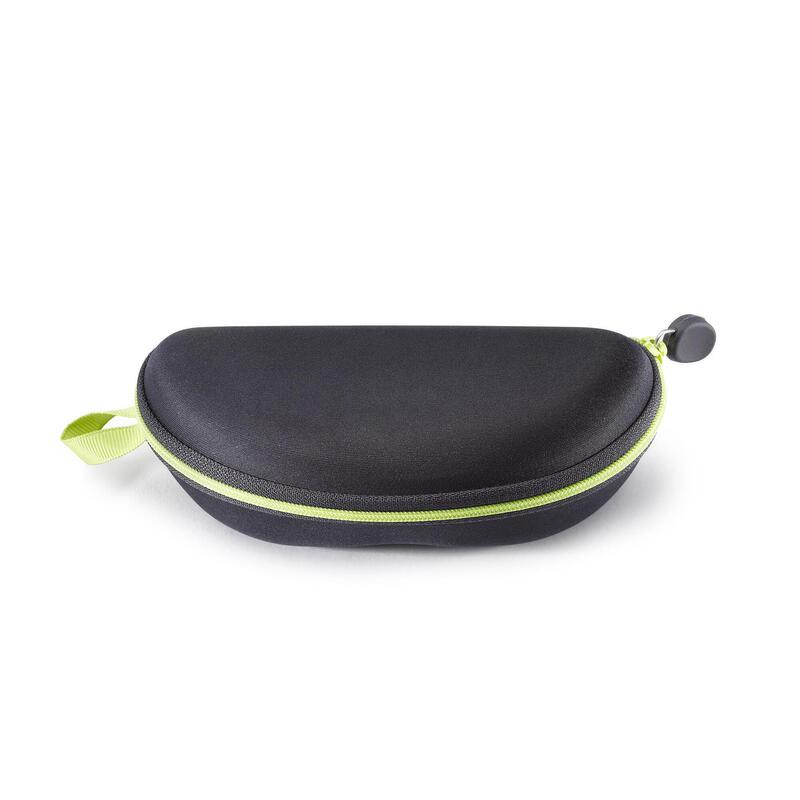 Çocuk Sert Güneş Gözlüğü Kılıfı - Siyah / Yeşil - Case 560