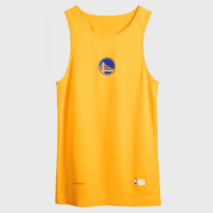 Men's Sleeveless Basketball Base Layer Jersey UT500 - NBA Golden State Warriors