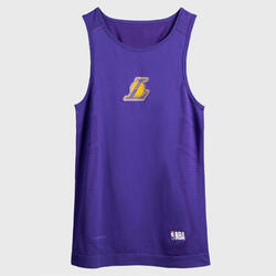 男款底層籃球背心UT500 - NBA洛杉磯湖人隊