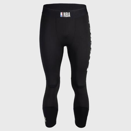 Men's Base Layer Capri Basketball Leggings - Black/NBA Los Angeles Lakers