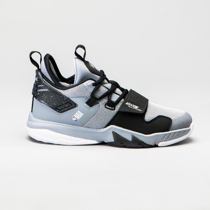 NBA BROOKLYN NETS Çocuk Basketbol Ayakkabısı - Beyaz - SS500M