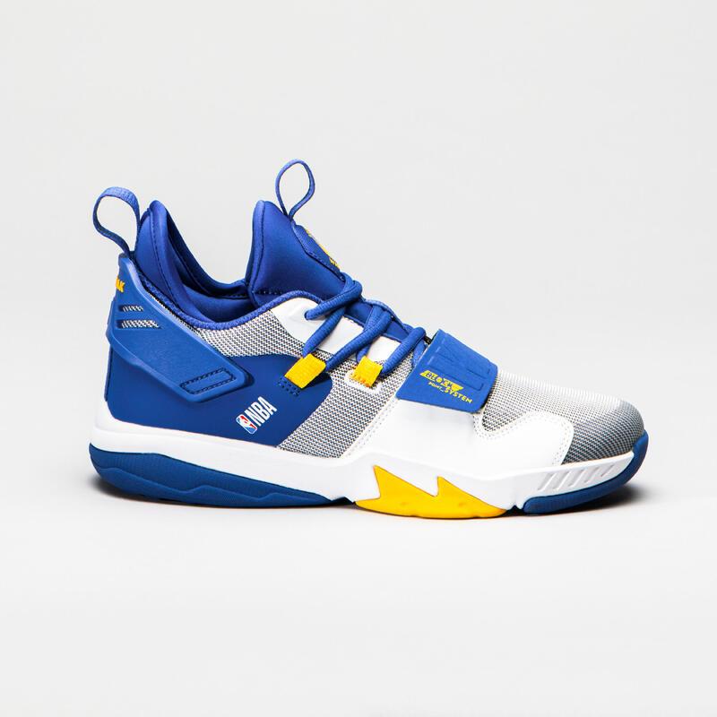 NBA GOLDEN STATE WARRIORS Çocuk Basketbol Ayakkabısı - Mavi - SS500M
