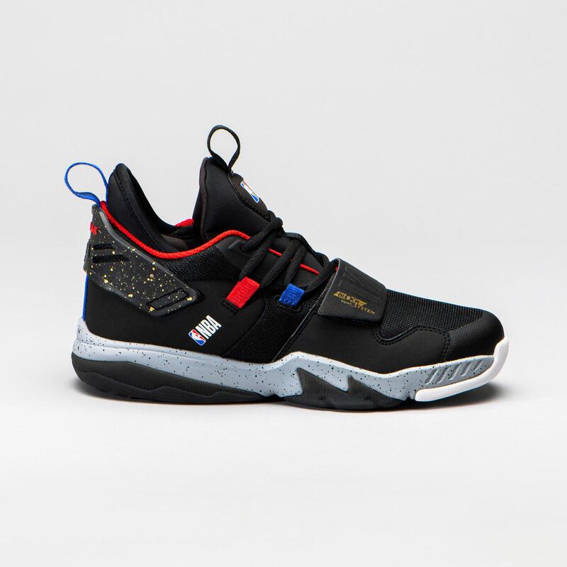 Basketbalschoenen voor jongens/meisjes SS500M zwart NBA