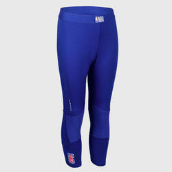 Boys'/Girls' Capri Basketball Leggings - Blue/NBA Los Angeles Clippers