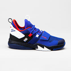 CHAUSSURES DE BASKETBALL POUR GARCON/FILLE SS500M BLEU NBA LOS ANGELES CLIPPERS